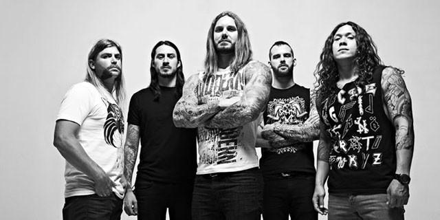 As I Lay Dying en tête d'affiche du Shaped By Fire Tour Europe 2019