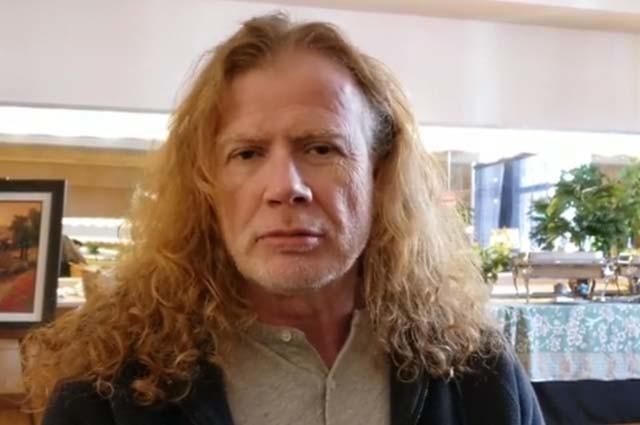 Dave Mustaine est en studio en train d'enregistrer le nouvel album de Megadeth