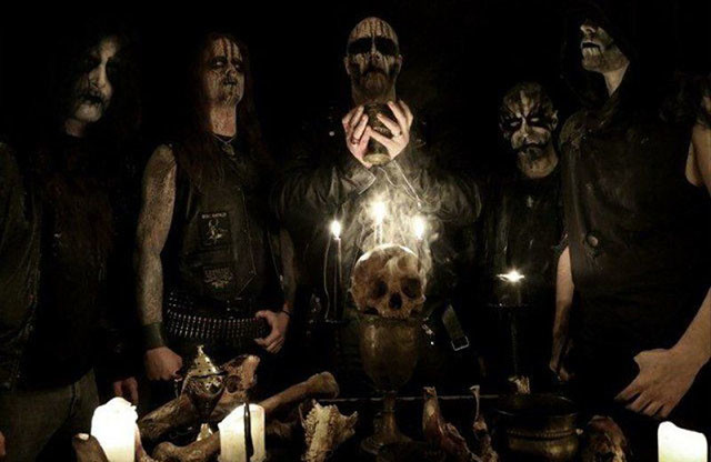 Enthroned dévoile un nouveau single intitulé Hosanna Satana