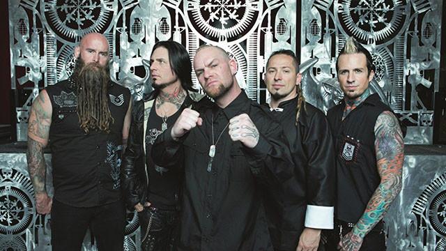 Five Finger Death Punch cartonne sur les fréquences radios Rock américaines