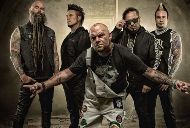 Five Finger Death Punch est en studio d'enregistrement