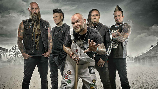 Five Finger Death Punch sort une reprise de Blue On Black