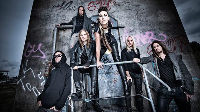 Helix le nouvel album d'Amaranthe via Spinefarm Records