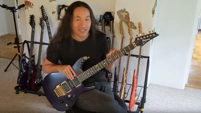 Herman Li de Dragonforce vend une guitare unique aux enchères à des fins caritatives