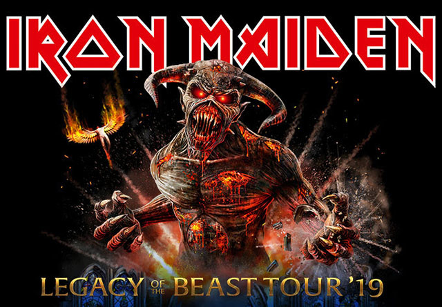 Iron Maiden rallonge la tournée Legacy Of The Beast