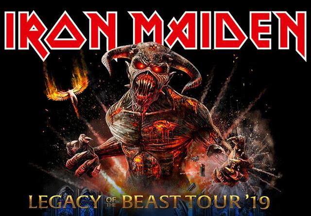 Iron Maiden rallonge la tournée Legacy Of The Beast