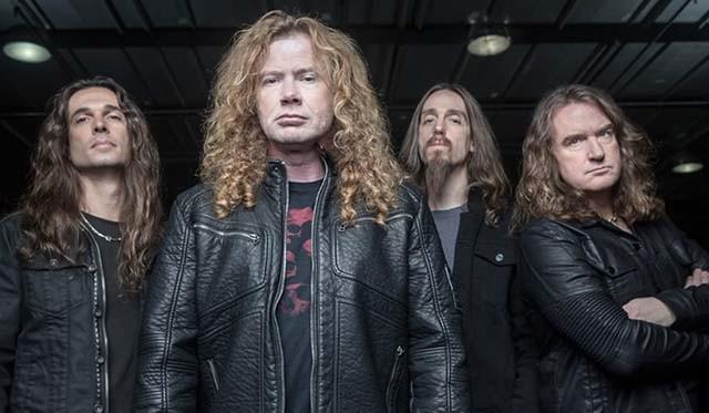 Megadeth est en studio pour son nouvel album