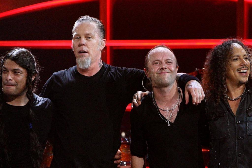 Metallica partage une vidéo live de sa chanson Sad But True