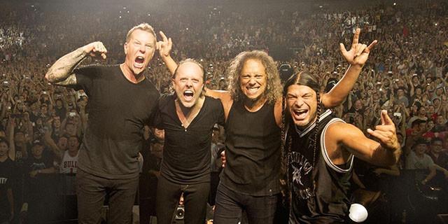 Metallica a rassemblé plus de 1.3M de dollars pour la bonne cause
