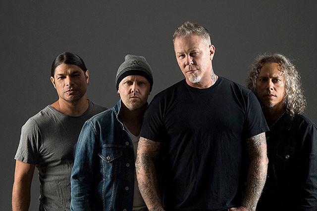 Metallica fait partie des artistes les mieux payés du Billboard en 2018