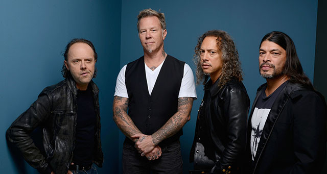 Metallica en live au Stade de France