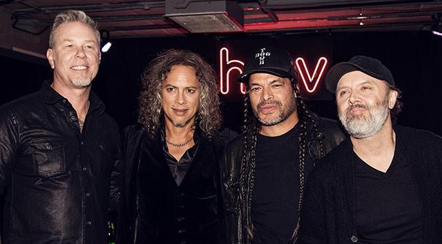 Metallica fait un don de 100,000 dollars pour les feux de fôrets en Californie