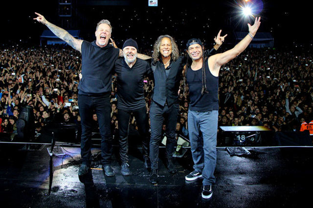 Les concerts de Metallica durant l'été 2019 ont généré plus de 70 millions de dollars