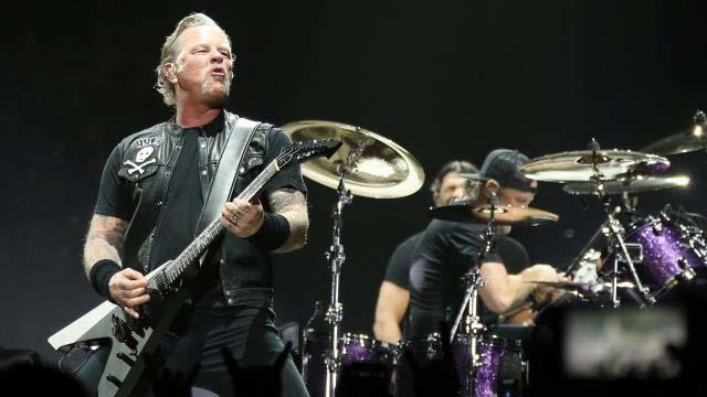 Metallica partage sa performance live de St. Anger à Manchester