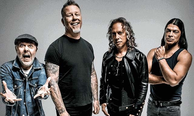 Metallica publie une performance live de sa chanson Frantic