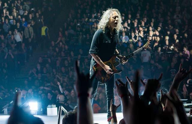Nouvelle vidéo live de Metallica pour Spit Out The Bone