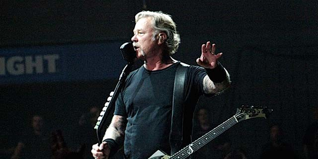 James Hetfield de Metallica défend le son de l'album …And Justice For All
