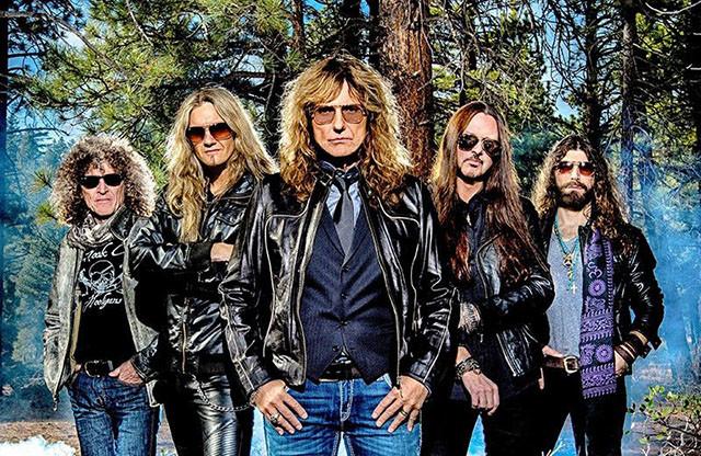 Whitesnake sort un nouveau single intitulé Trouble Is Your Middle Name