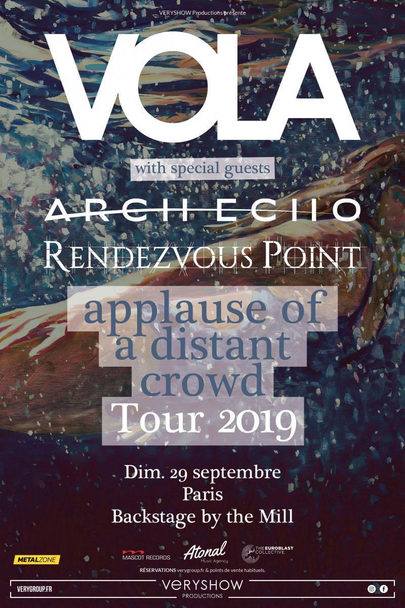 Tentez de gagner vos places pour le concert de Vola au Backstage BTM à Paris