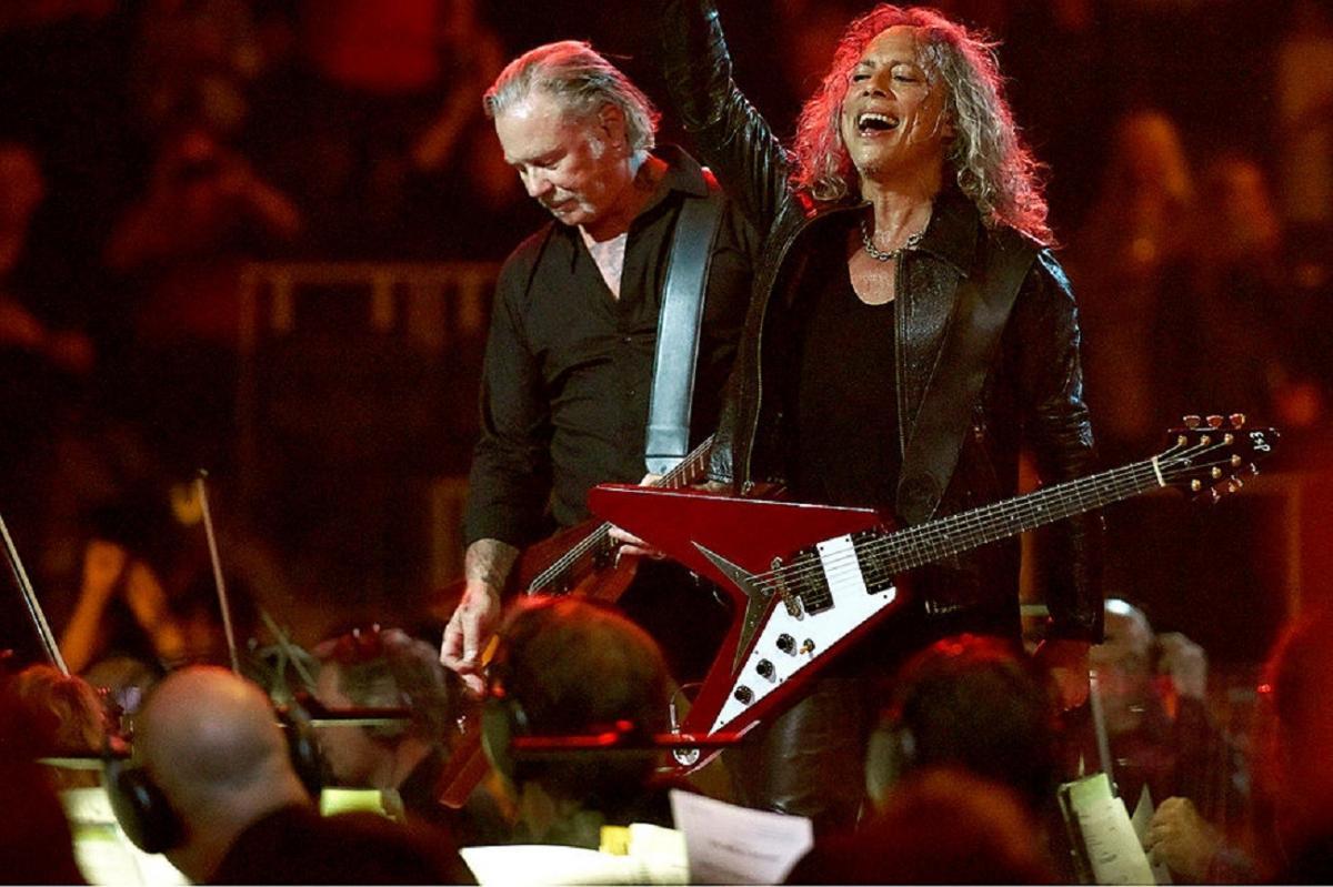La setlist de Metallica pour son concert S&M² est monstrueuse