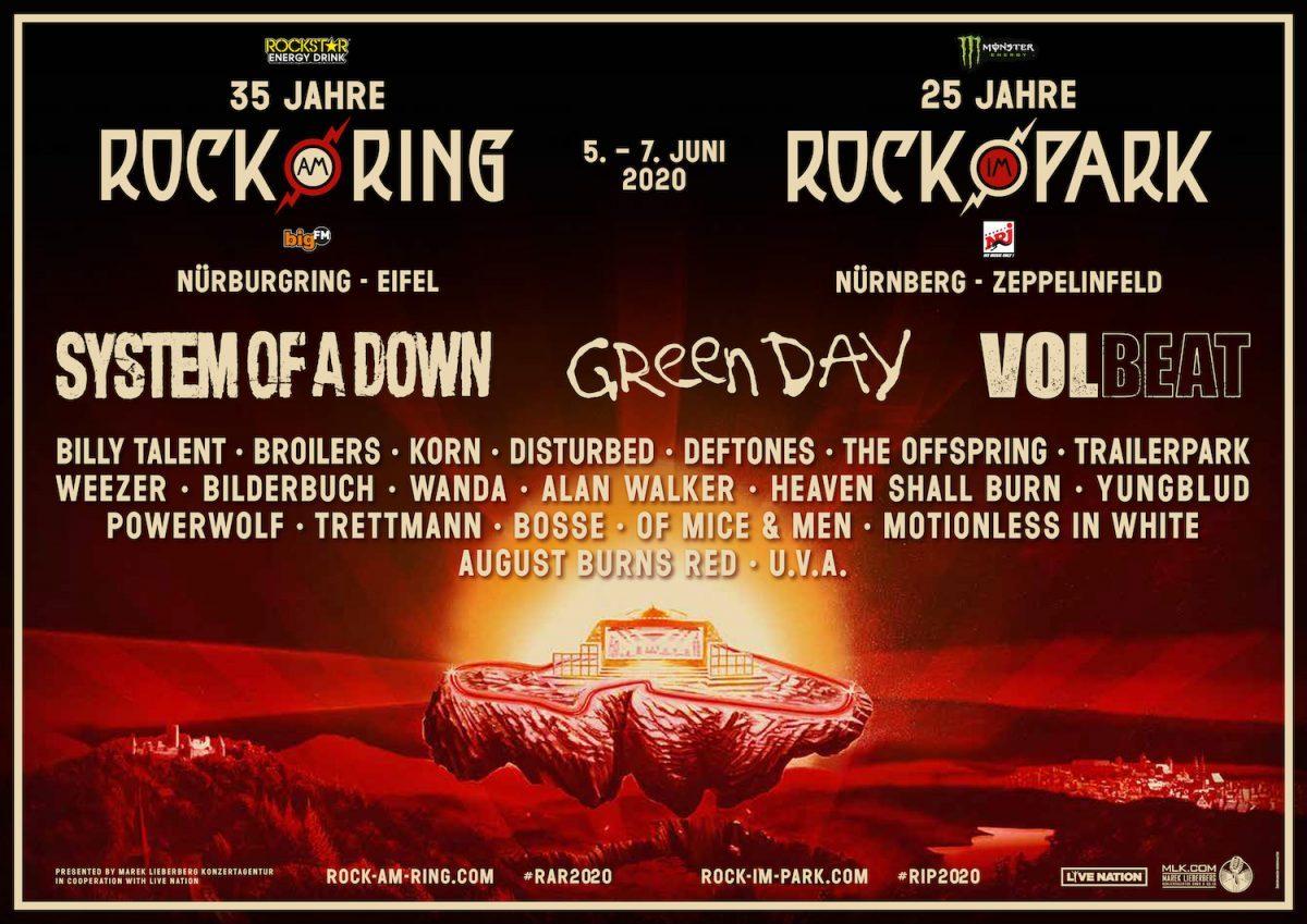 Le Rock am Ring et le Rock im Park dévoilent une affiche colossale