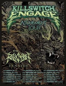Killswitch Engage annonce les groupes qui l'accompagneront lors de sa prochaine tournée européenne