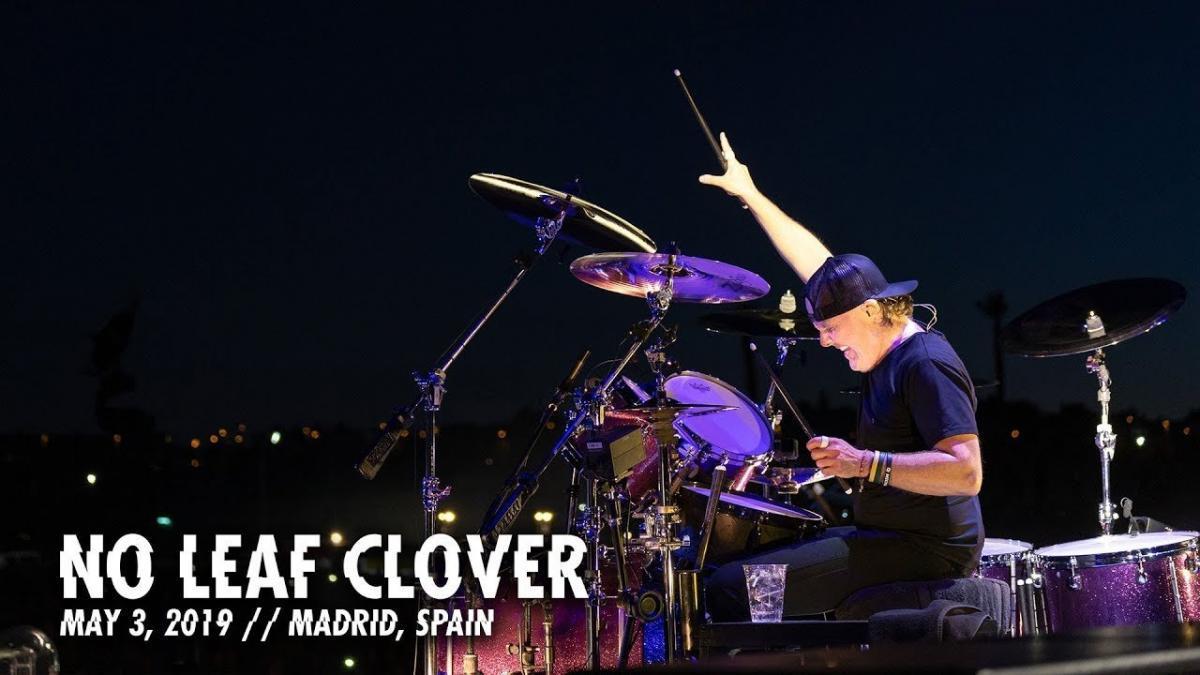 Metallica sort une vidéo live de No Leaf Clover à Madrid