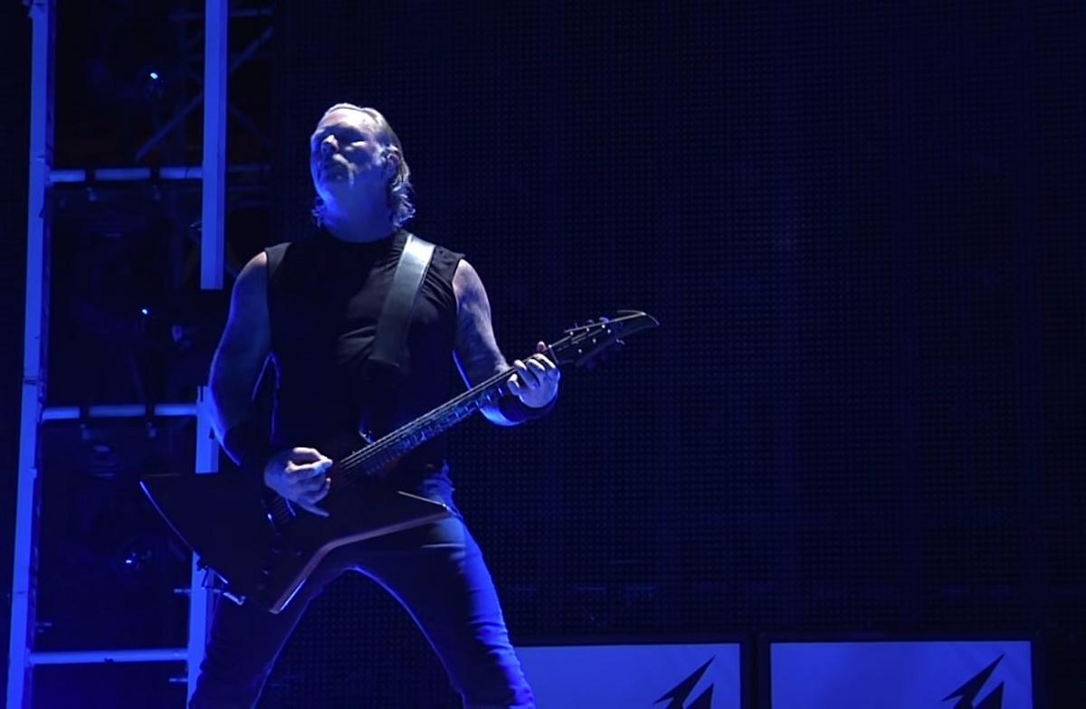 Vidéo de Metallica jouant The Outlaw Torn à Mannheim