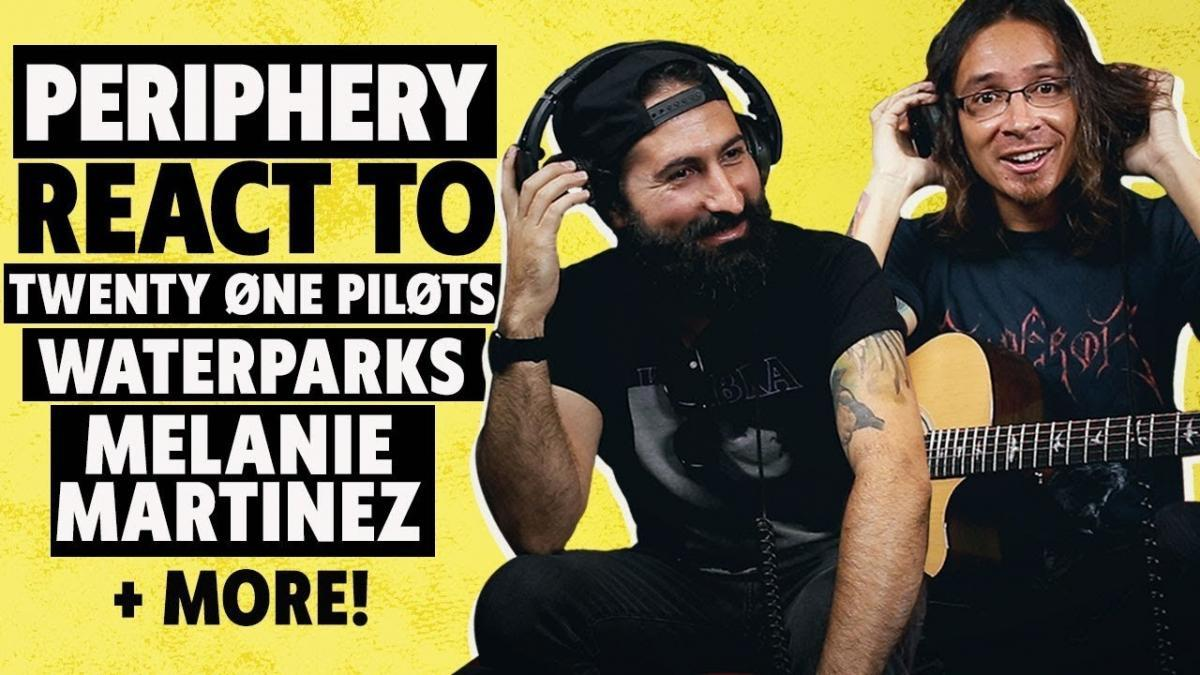 Periphery donne son avis sur Melanie Martinez, Twenty One Pilots, Fall Out Boy et autres