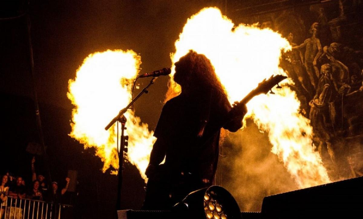 Slayer diffuse la première vidéo de son nouvel album live The Repentless Killogy