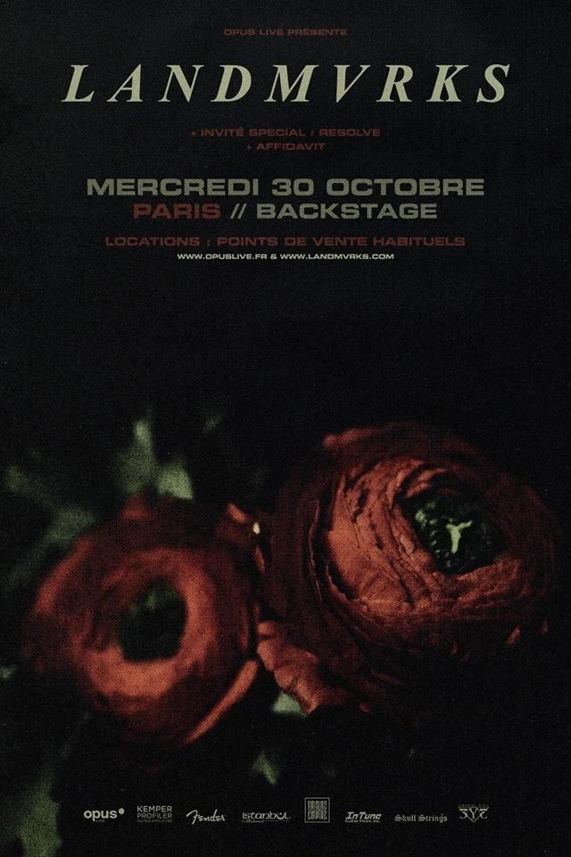 Tentez de gagner votre place pour le concert de Landmvrks au Backstage BTM à Paris