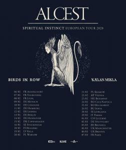 Le groupe de Metal français Alcest annonce les dates d'une tournée européenne pour début 2020