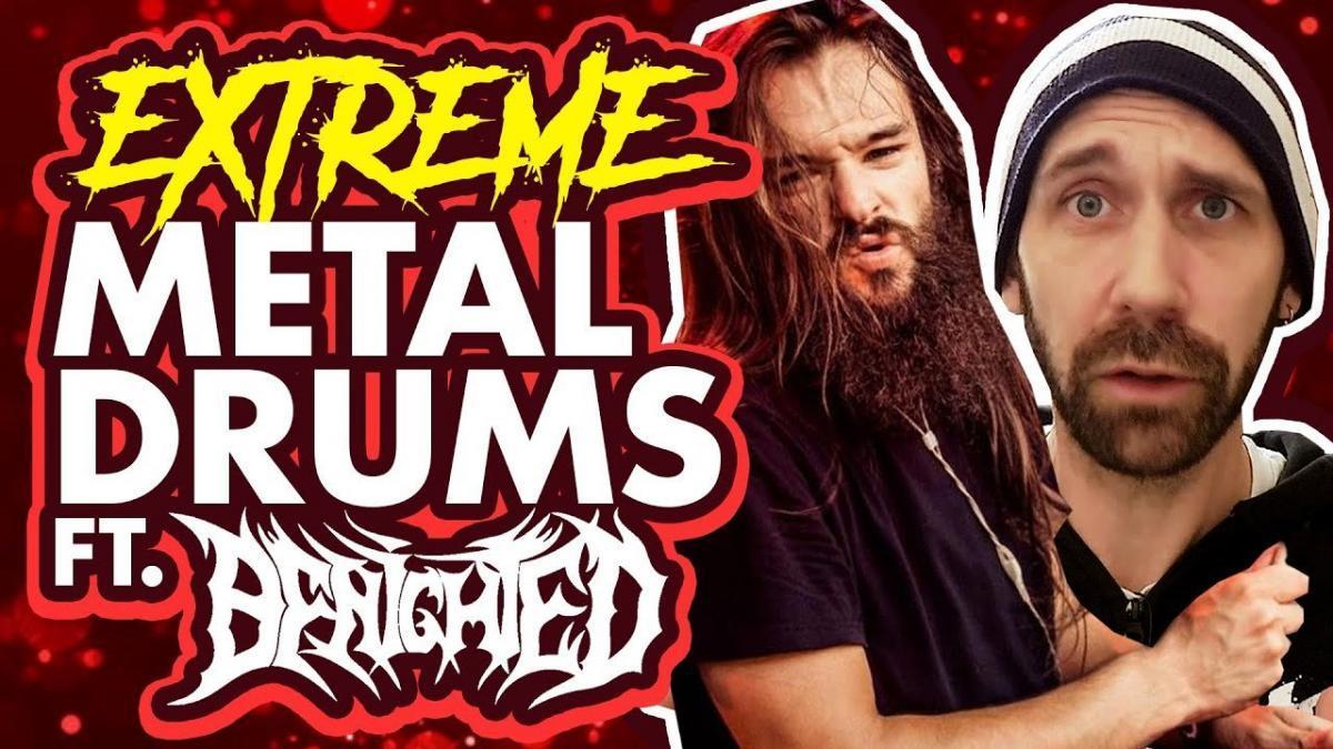 Écoutez Kevin Paradis, le batteur du groupe de Metal français Benighted, en studio en train d'enregistrer Obscene Repressed