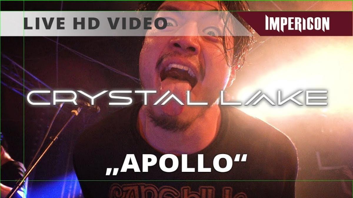 Crystal Lake publie une vidéo live énergique pour Apollo