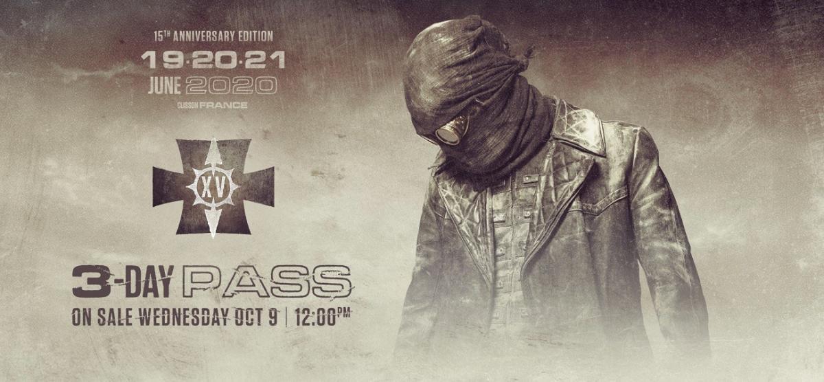 Les pass 3 jours du Hellfest 2020 seront en vente à partir de mercredi prochain