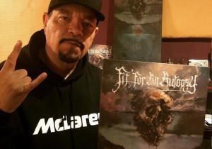 Ice T montre son soutien à Fit For An Autopsy !