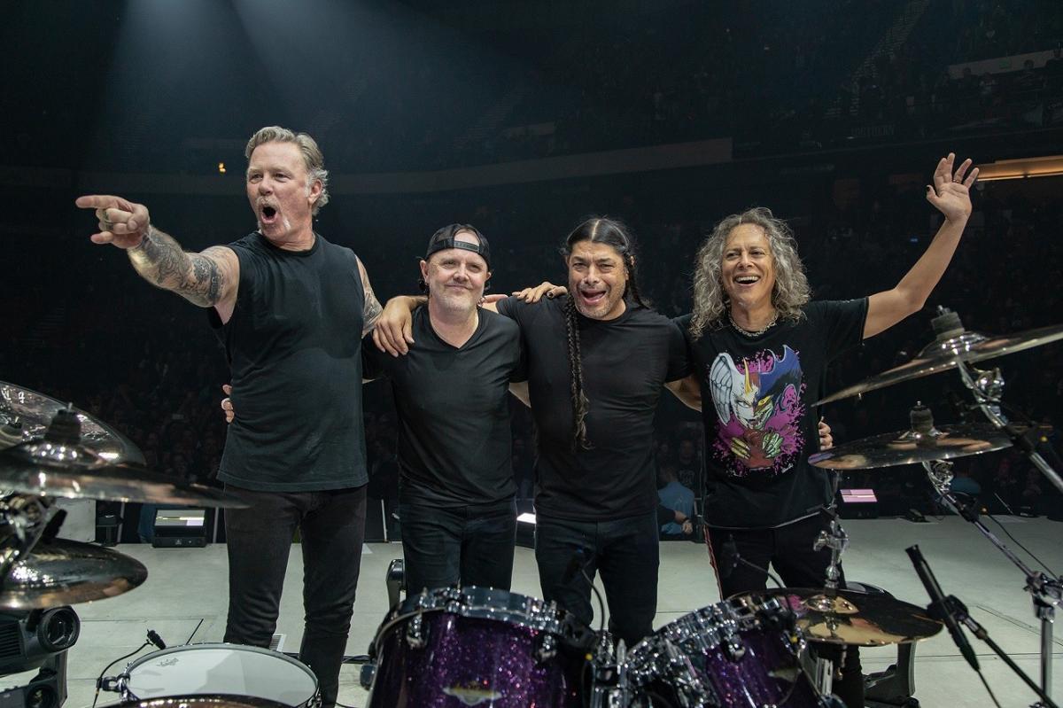 Metallica veut savoir ce que vous pensez : Envoyez un sms au légendaire groupe de Heavy Metal !