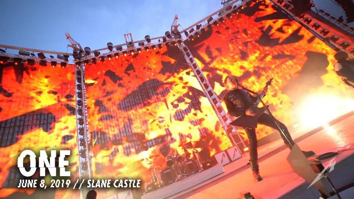 Metallica partage une vidéo live de One à Meath