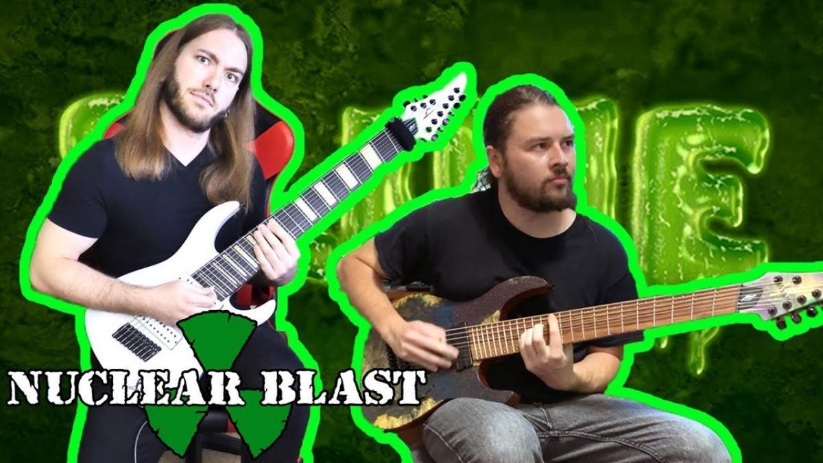Les guitaristes de Rings Of Saturn vous montrent comment jouer leur nouvelle chanson Pustules (Spoiler : c'est impossible)
