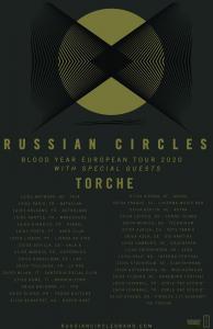 Russian Circles et Torche annoncent de nombreux concerts en France pour 2020