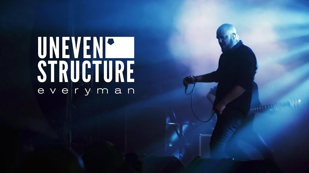 Le groupe de Metal français Uneven Structure sort un clip vidéo pour sa nouvelle chanson Everyman