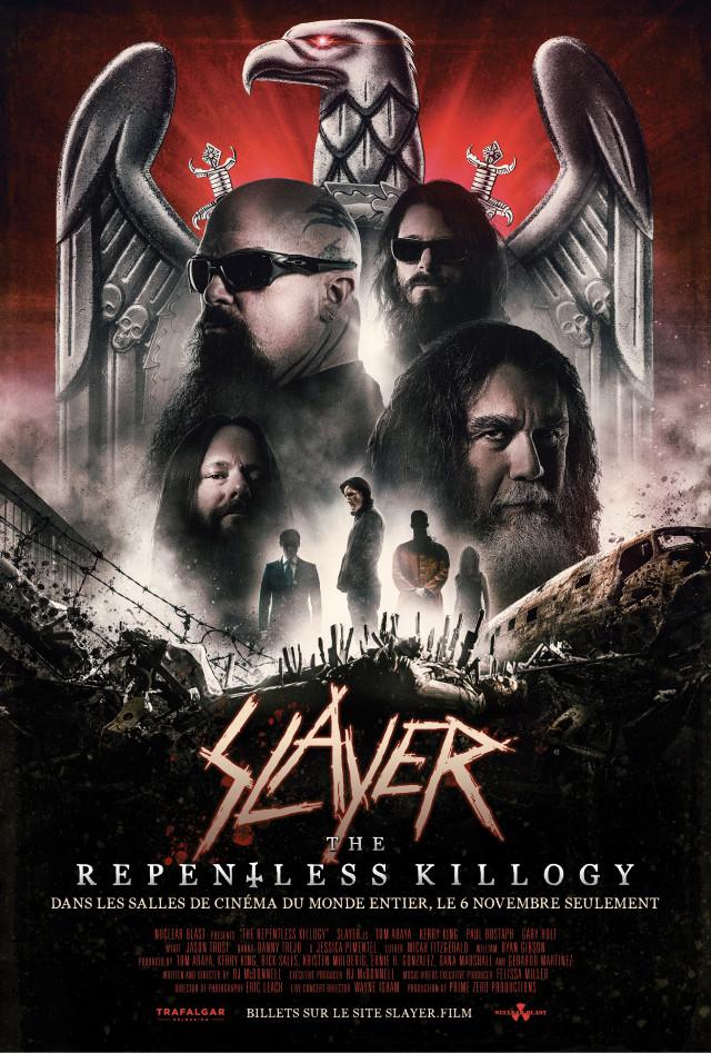 Tentez de gagner vos places de cinéma pour le film Slayer - The Repentless Killogy