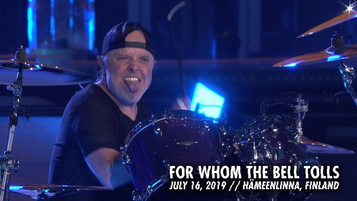 Metallica sort une vidéo live de For Whom The Bell Tolls à Hämeenlinna
