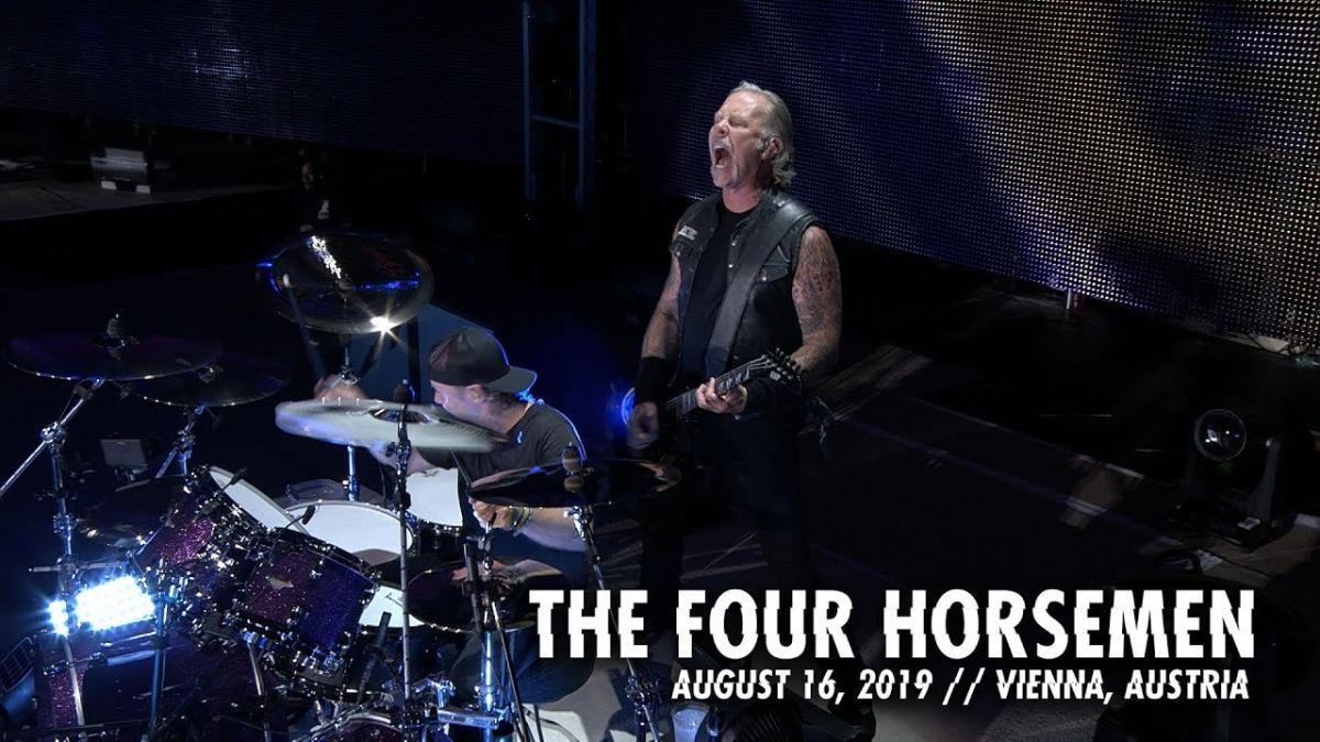 Metallica publie une vidéo live de The Four Horsemen à Vienne