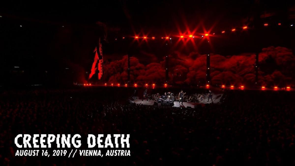 Metallica sort une vidéo live de Creeping Death à Vienne