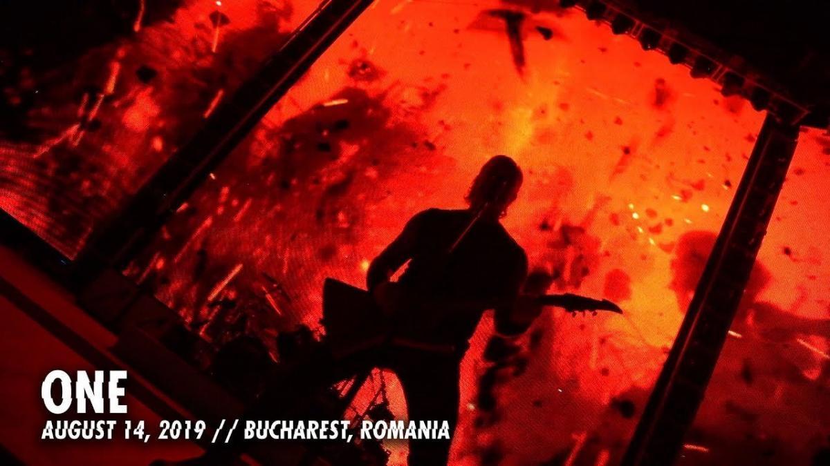Metallica publie une vidéo live de One à Bucarest
