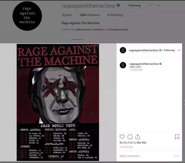 MAJ : Rage Against The Machine ne sera pas au Hellfest 2020 ? (l'affiche était apparemment fausse)