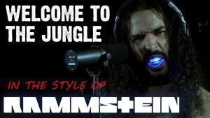 Ten Second Songs reprend Welcome To The Jungle de Guns N' Roses à la sauce Rammstein
