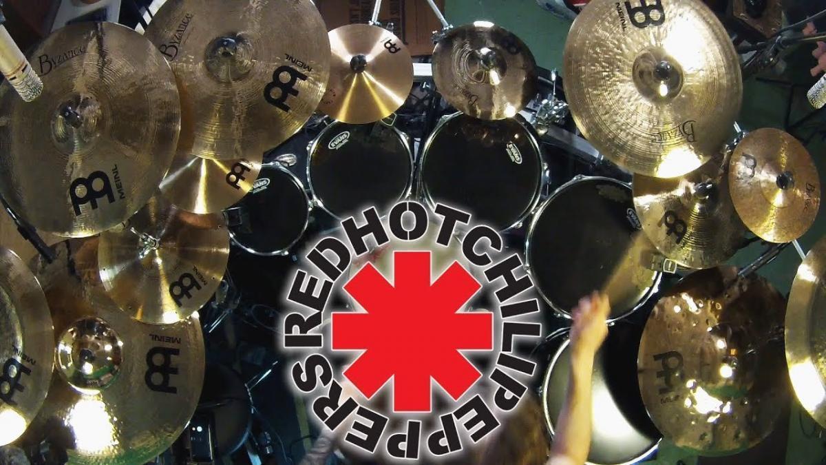 Give It Away de Red Hot Chili Peppers avec de la batterie Death Metal