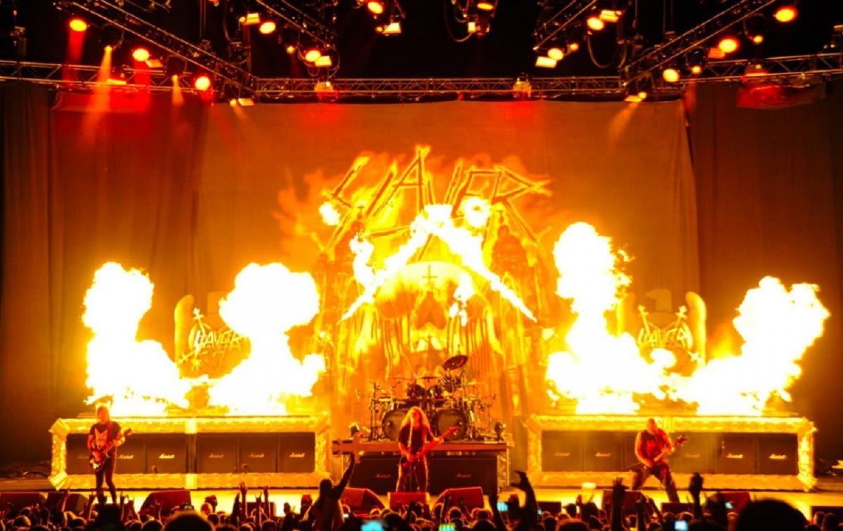Regardez Slayer jouer le dernier concert de sa tournée d'adieux